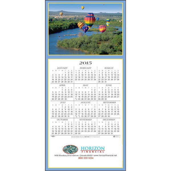 Gone With The Wind - Greeting Card With Year-at-a-glance Calendar Photo