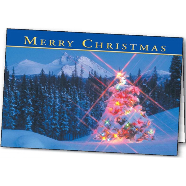 Winter Lights - Holiday Greeting Card Photo