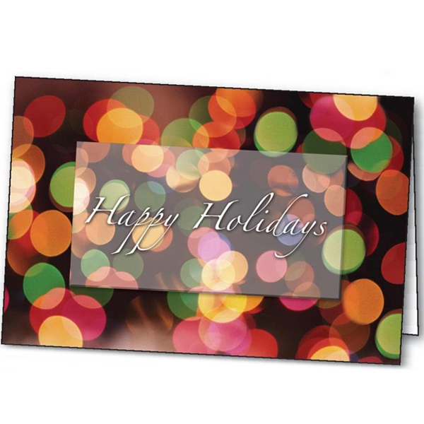 Holiday Lights - Holiday Greeting Card Photo