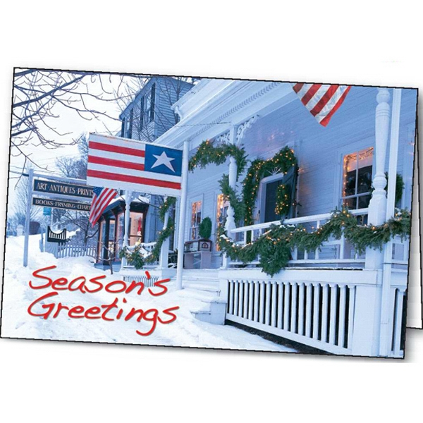 Patriotic Greetings - Holiday Greeting Card Photo