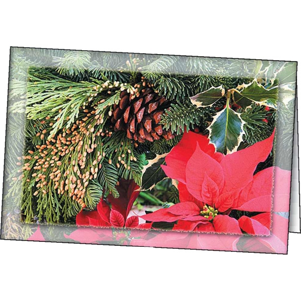 Poinsettia - Holiday Greeting Card Photo