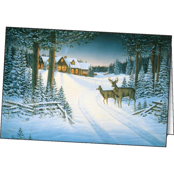 Northern Retreat - Holiday Greeting Card Photo
