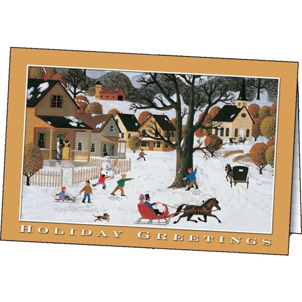 Holiday Greetings - Holiday Greeting Card Photo