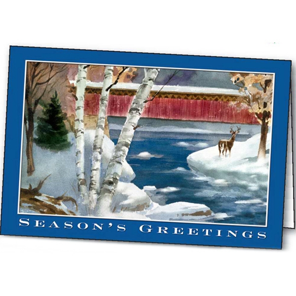 Winter's Tranquility - Holiday Greeting Card Photo