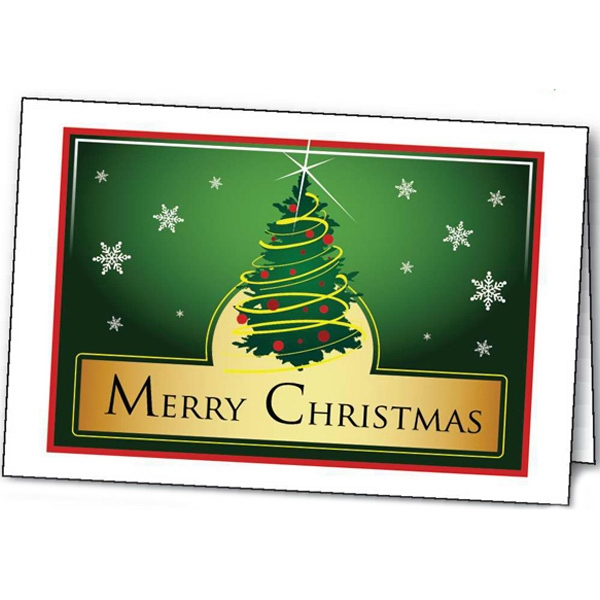 Merry Christmas - Holiday Greeting Card Photo
