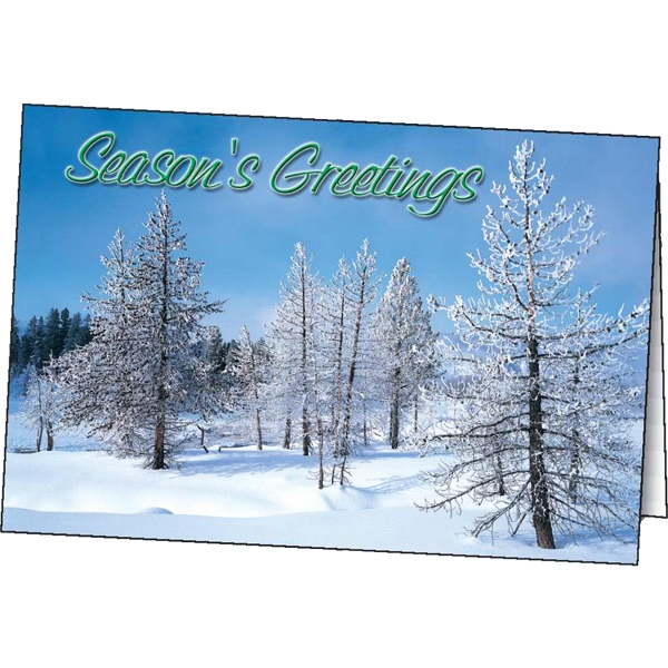Winter Greetings - Holiday Greeting Card Photo