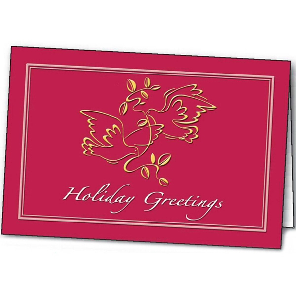 Peaceful Tidings - Holiday Greeting Card Photo