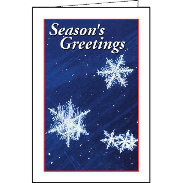 Snowflakes - Holiday Greeting Card Photo