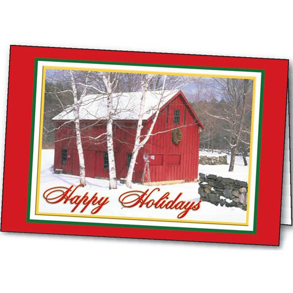 Holiday In The Country - Holiday Greeting Card Photo