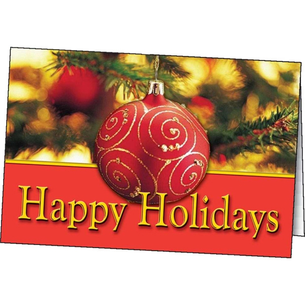 Happy Holidays - Holiday Greeting Card Photo