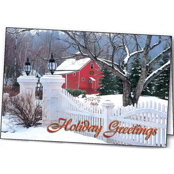 Country Welcome - Holiday Greeting Card Photo
