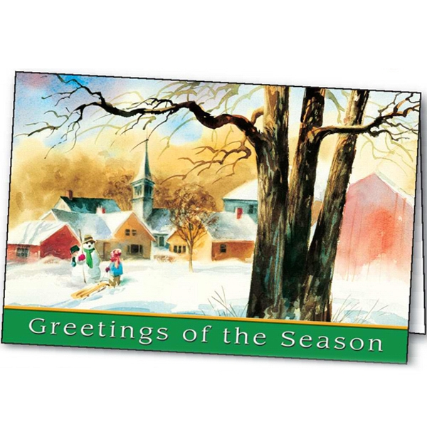 Holiday Welcome - Holiday Greeting Card Photo