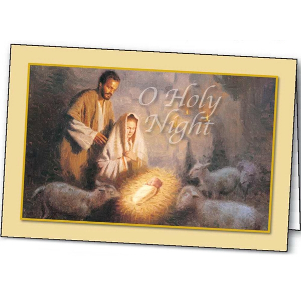 O Holy Night - Holiday Greeting Card Photo