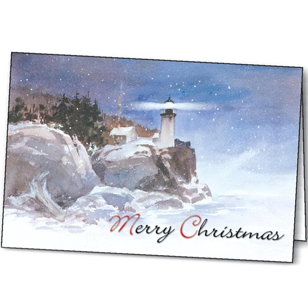 Winter Beacon - Holiday Greeting Card Photo