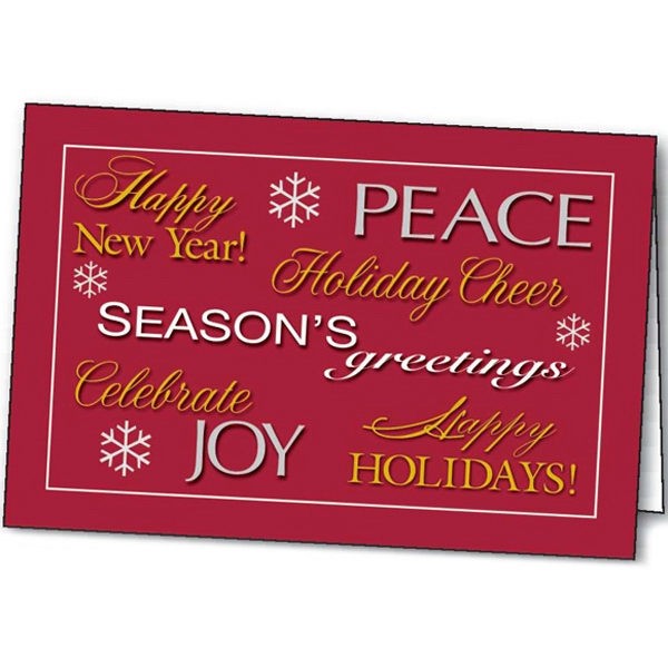 Season's Greetings - Holiday Greeting Card Photo