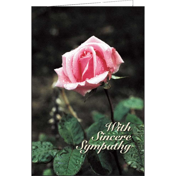 With Sincere Sympathy - Special Occasion Card Photo