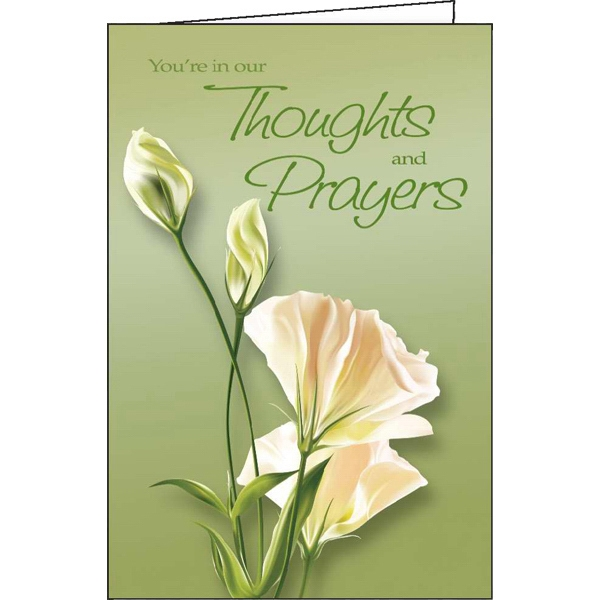 You're In Our Thoughts And Prayers - Special Occasion Card Photo