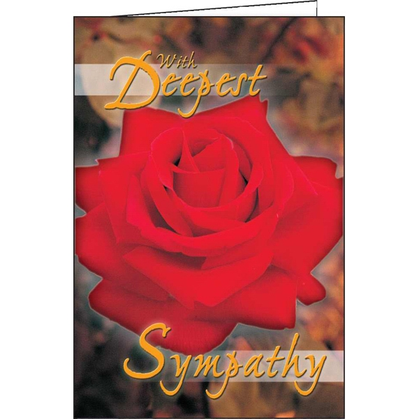 With Deepest Sympathy - Special Occasion Card Photo