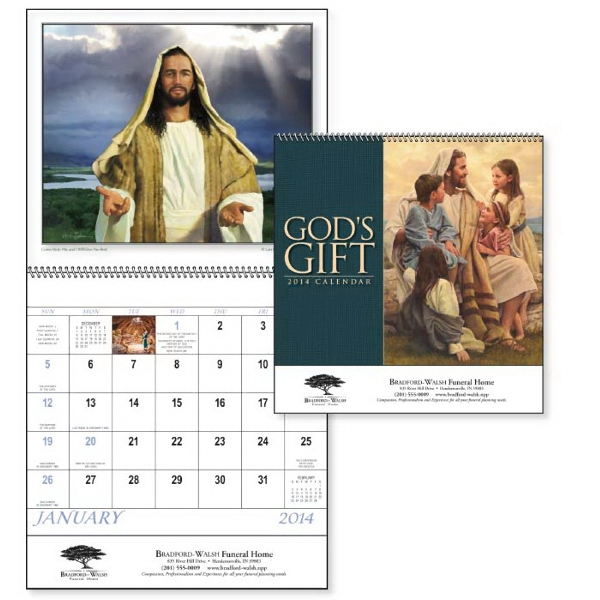 Spiral 13-month 2015 Calendar With Roman Catholic Observances Photo