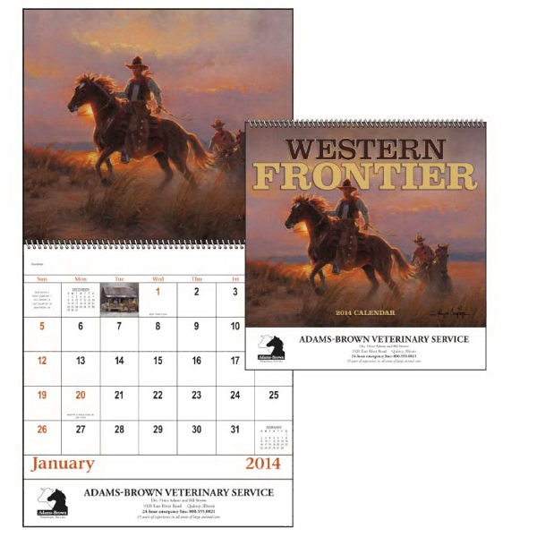 Spiral, 13-month 2015 Calendar With Art By Wayne Cooper Bringing The West To Life Photo