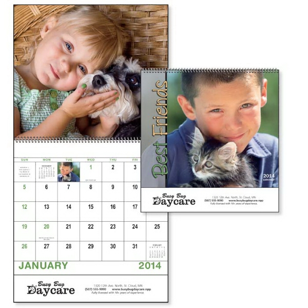 Spiral, 13-month 2015 Calendar Will Bring Smiles All Year Long! Photo