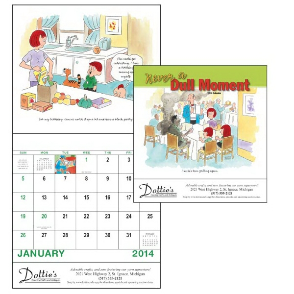 Stapled, 13-month 2015 Calendar With A Humorous Look At The Joys Of Family Life Photo