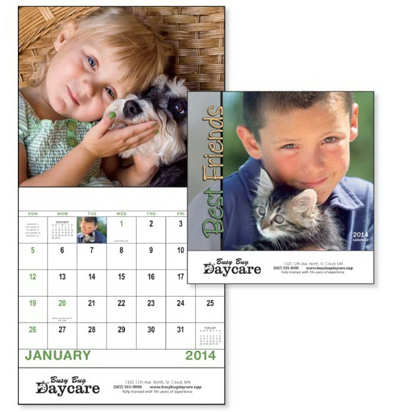 Stapled, 13-month 2015 Calendar Is Sure To Bring Smiles All Year Long! Photo