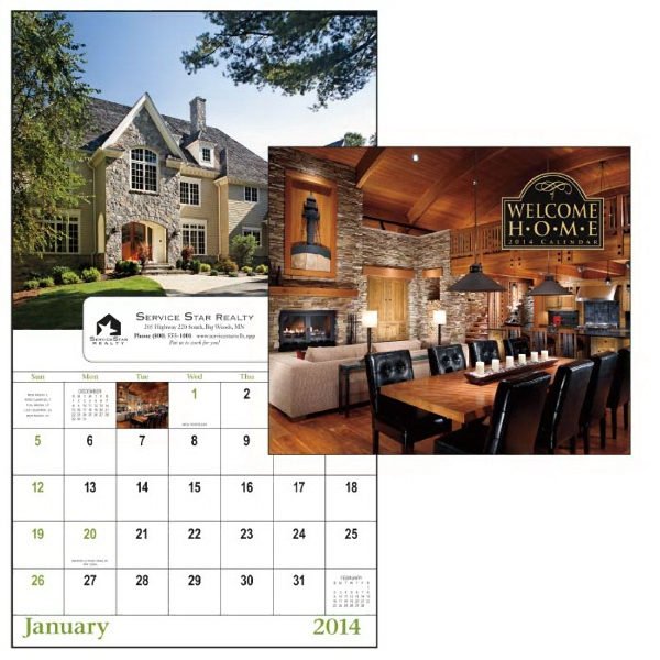 13-month Window 2015 Calendar With Photos Of Gorgeous Homes Photo