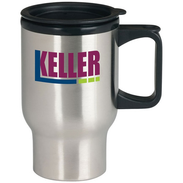 Stainless Steel Trip Mug - 17 oz