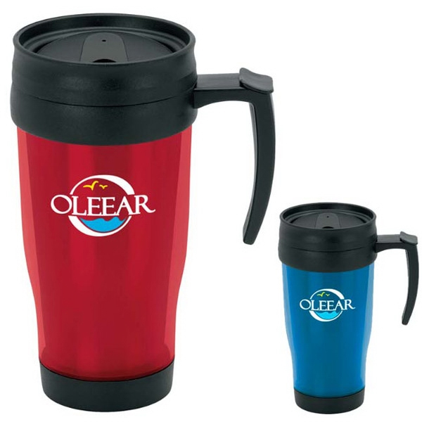 Translucent Travel Mug - 15 oz