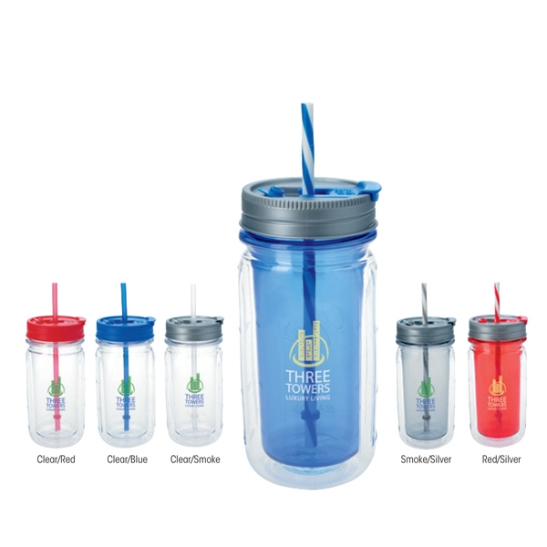 Cool Gear (TM) Mason Tumbler - 16 oz