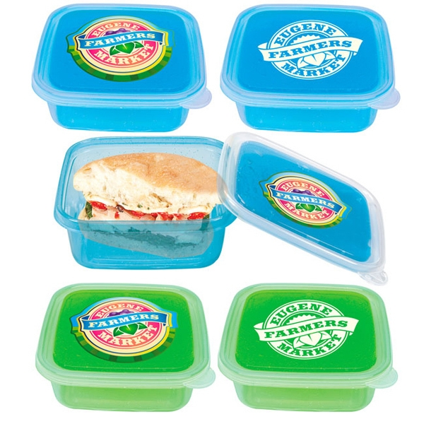 Cool Gear (TM) Freezable Gel Lid Storage Container
