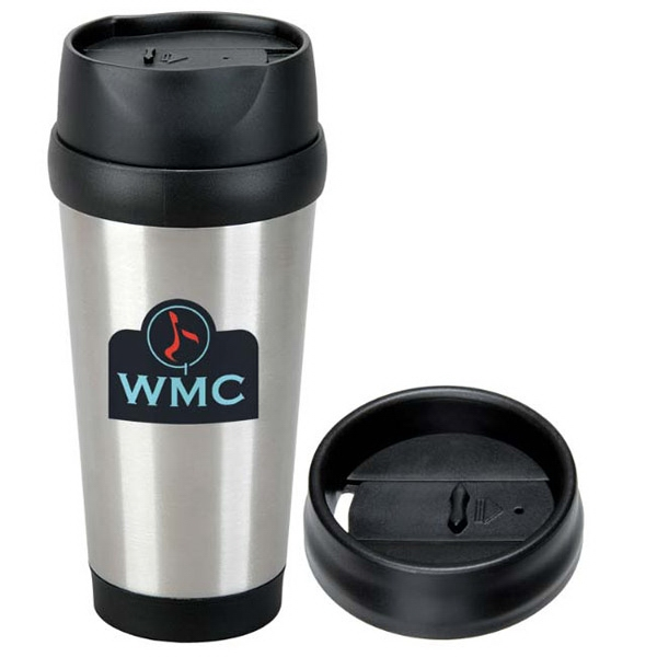 Modern Stainless Steel Tumbler - 16 oz