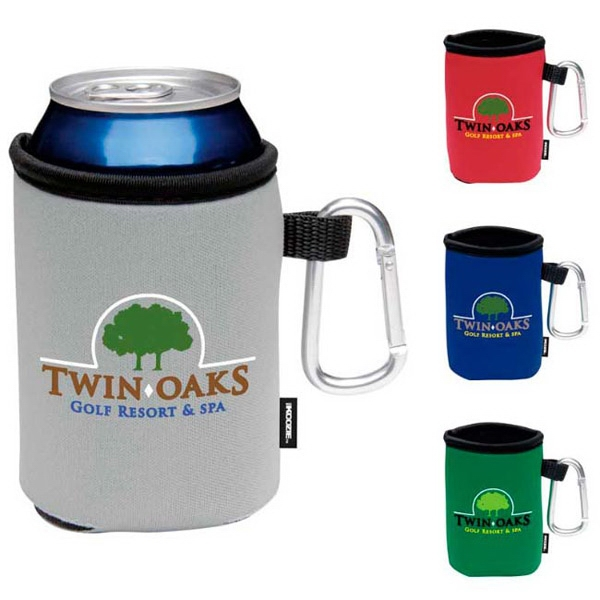 Collapsible KOOZIE (R) Can Kooler with Carabiner