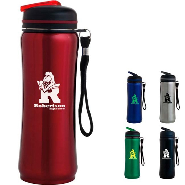 26 Oz Sport Bottle With Carry Strap Photo