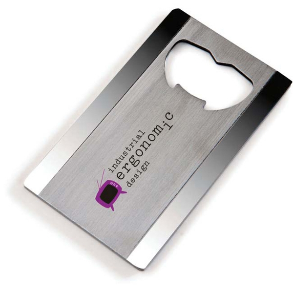 "Good Value - Steel Bottle Opener. 2 3/4"" X 1 5/8"" Photo"