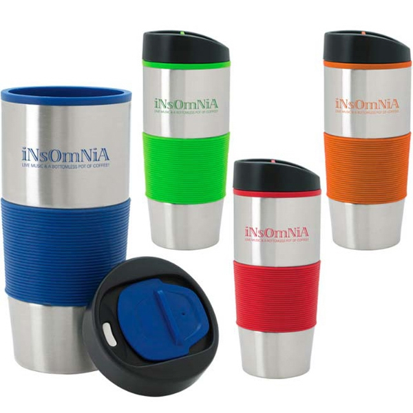 Color Grip Tumbler - 18 oz