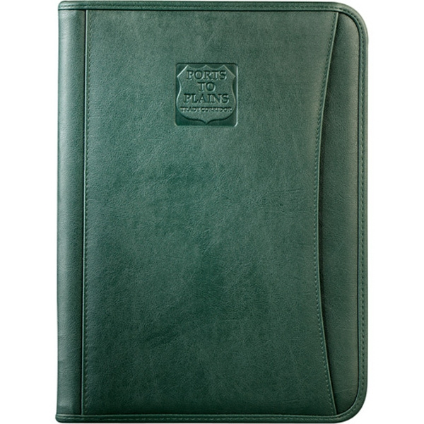 Durahyde Zippered Padfolio With Interior Organizer Photo