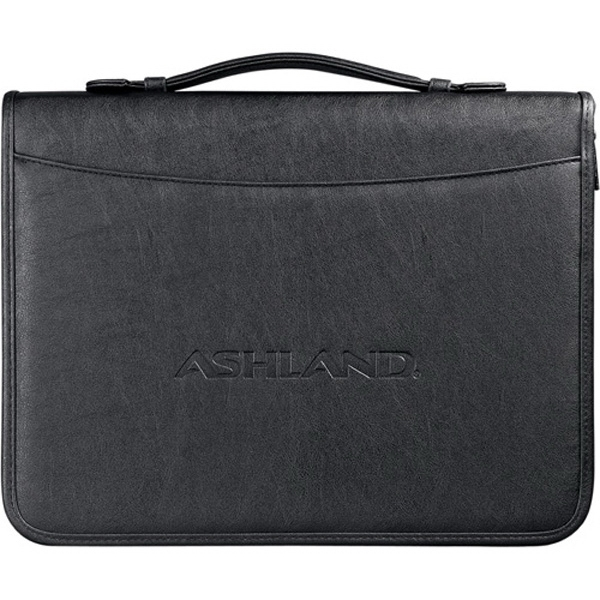 Durahyde Basic Presentation Portfolio With Zippered Closure Photo