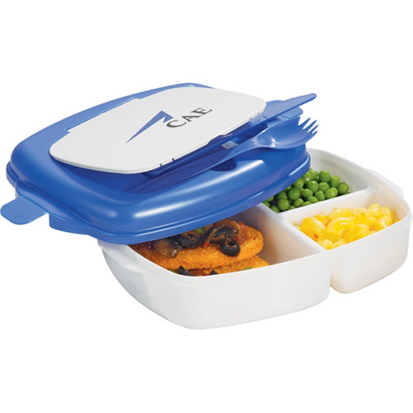 Cool Gear (r) Lunch Express - Microwave-safe Lunch Container With Divided Compartments To Keep Food Separated Photo