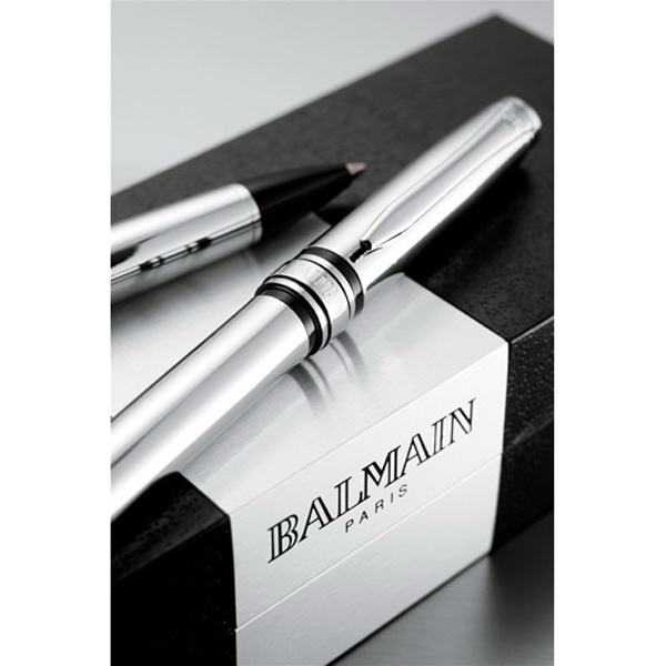 Balmain (r) Allee - Pen Set, Includes Brass Roller Ball And Twist Action Ballpoint Pens Photo