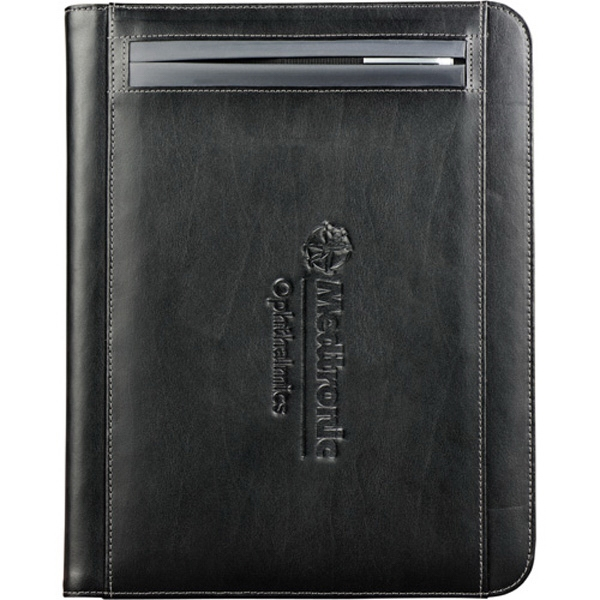 Metropolitan (r) - Premier Leather Writing Pad. Pen Slot Integrated Into The Cover Photo