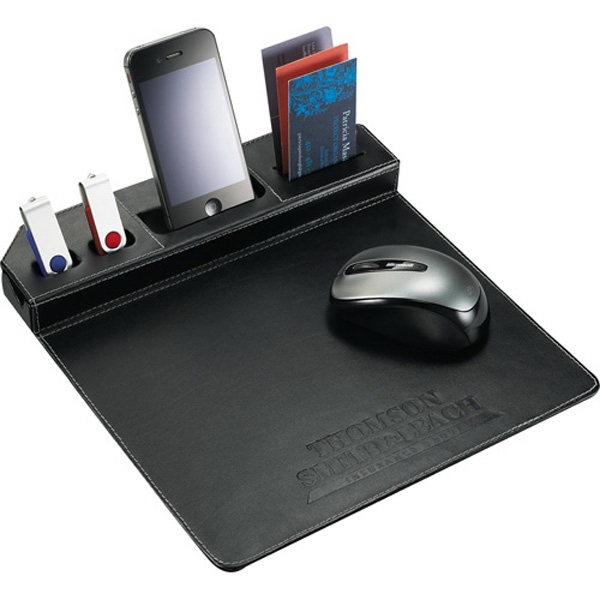 Metropolitan (r) - Mouse Pad, Made Of Premier Leather Photo