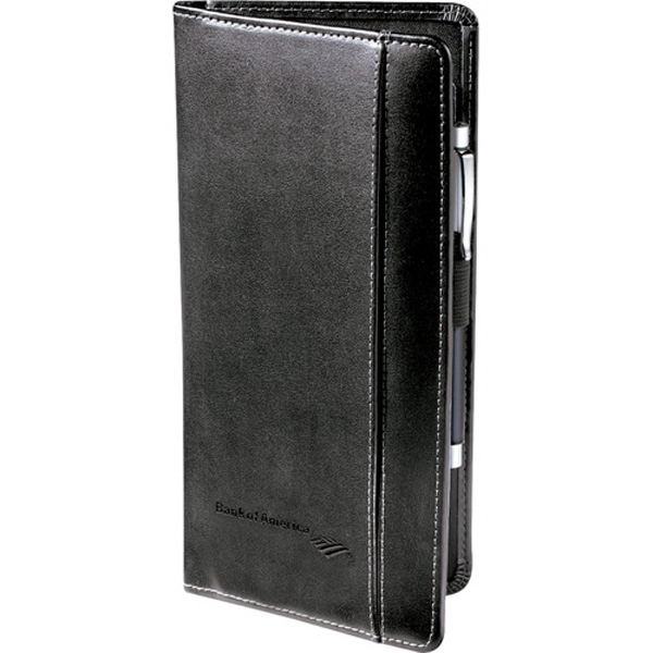 Metropolitan - Black Premier Leather Travel Wallet With An Open Front Pocket And Interior Pocket Photo