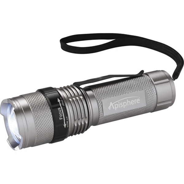 Mini Tactical Dual Output Flashlight Made Of Aluminum Photo