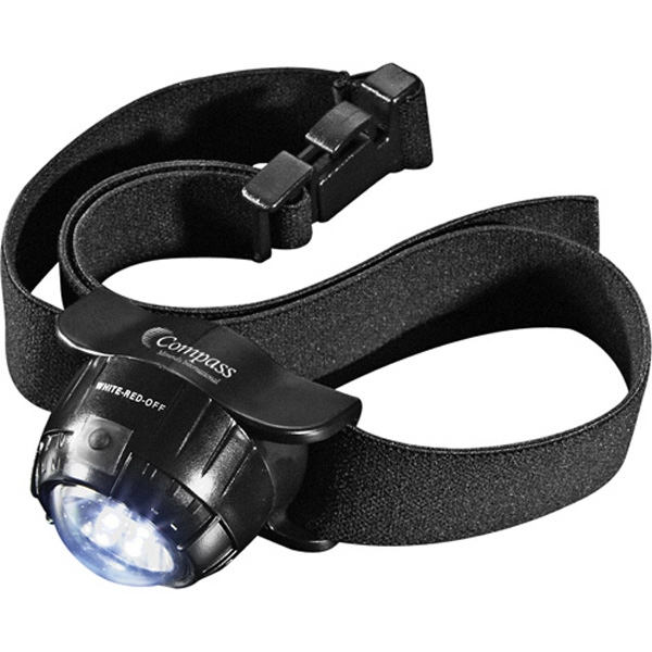 Garrity (r) - Black Abs Plastic Headlamp With Two Lithium Batteries Photo