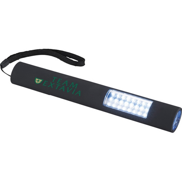 Garrity (r) Slim And Bright - Magnetic Led Flashlight Made Of Plastic Photo