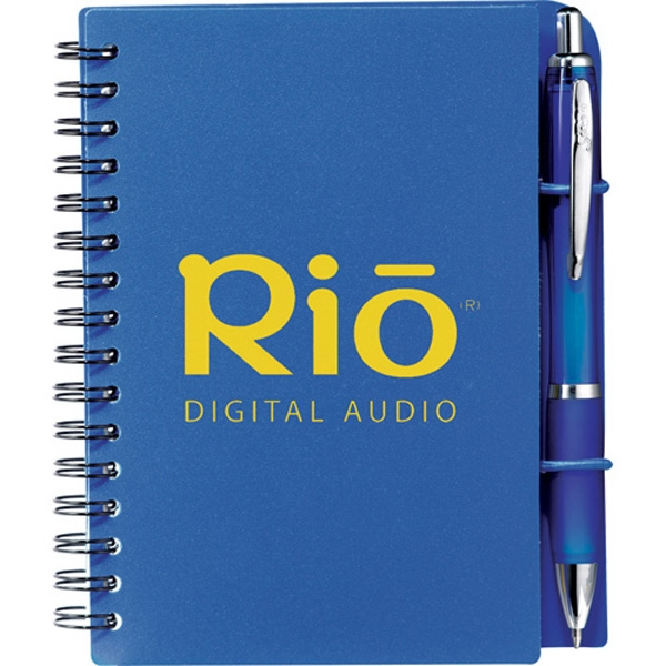 Scripto (r) Identity - Junior Jotter Bundle Set With Yellow Sticky Notes, Tape Flags, And Pen Photo