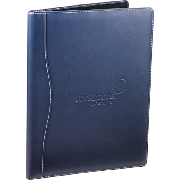 Hampton (r) - Ultrahyde Writing Pad. Documents Pocket And Double Pen Loop Lock Closure Photo