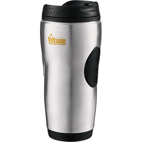 Grip Tumbler, Constructed Of Stainless Steel With Plastic Liner, 14 Oz Photo